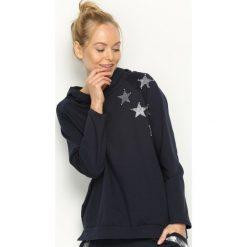 Bluzy damskie: Granatowa Bluza Few Stars