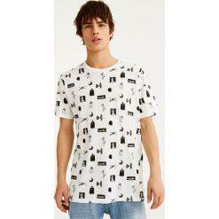 T-shirty męskie: Koszulka Star Wars z nadrukiem all over