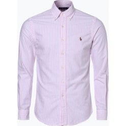 Koszule męskie na spinki: Polo Ralph Lauren - Koszula męska, różowy