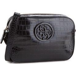 Torebka GUESS - HWCG66 91120 BLA. Czarne listonoszki damskie marki Guess, z aplikacjami, ze skóry ekologicznej. Za 399,00 zł.
