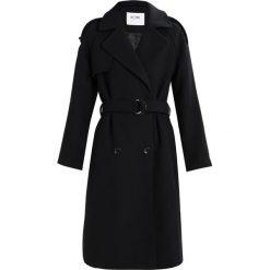 KIOMI Płaszcz wełniany /Płaszcz klasyczny black. Niebieskie płaszcze damskie wełniane marki KIOMI. W wyprzedaży za 356,30 zł.