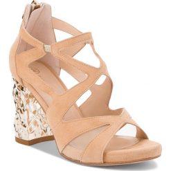 Sandały damskie: Sandały SOLO FEMME – 15207-11-H47/G12-07-00 Beż