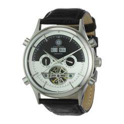 "Zegarki męskie: Zegarek ""CDBATOATLTSTSTWHBK"" w kolorze czarno-białym"