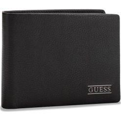 Duży Portfel Męski GUESS - SM2511 LEA27  BLA. Czarne portfele męskie marki Guess, ze skóry. Za 229,00 zł.