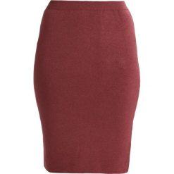 Spódniczki ołówkowe: ICHI ELEMENTS  Spódnica ołówkowa  oxblood red