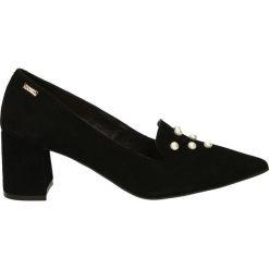 Buty ślubne damskie: Czółenka - 2728 CAM NER1