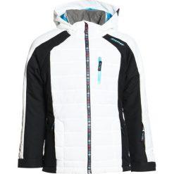Ziener AMERA JUN  Kurtka snowboardowa white. Białe kurtki dziewczęce sportowe Ziener, z materiału, narciarskie. W wyprzedaży za 495,20 zł.