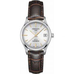 PROMOCJA ZEGAREK CERTINA DS-8 LADY COSC CHRONOMETER C033.251.16.031.01. Szare zegarki damskie CERTINA, szklane. W wyprzedaży za 1355,20 zł.