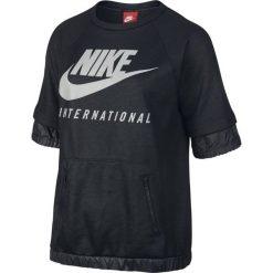 Bluzy sportowe damskie: bluza sportowa damska NIKE INTERNATIONAL TOP SHORT SLEEVE / 802356-010