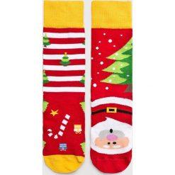 Nanushki - Skarpetki Not So Santa. Białe skarpetki męskie marki Nanushki, z bawełny. Za 24,90 zł.