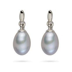 Biżuteria i zegarki: Kolczyki-wkrętki z perłami muszlowymi