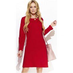 Makadamia Sukienka Damska 38 Czerwona. Czerwone sukienki balowe Makadamia. Za 225,00 zł.