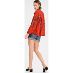Bluzki asymetryczne: IVY & OAK BOHEMIAN Bluzka brick red
