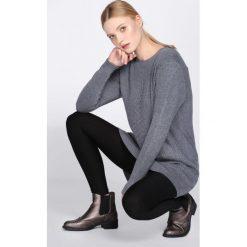 Swetry klasyczne damskie: Ciemnoszary Sweter Chronology