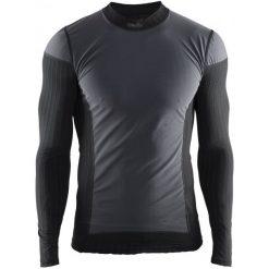 Craft Koszulka Męska ax2.0 Ws Ls Czarna L. Białe odzież termoaktywna męska marki Craft, m. Za 269,00 zł.
