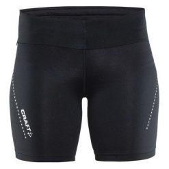 Spodenki sportowe męskie: Craft Spodenki damskie Essential Short Tights Czarne r. S  (1904776-9999)