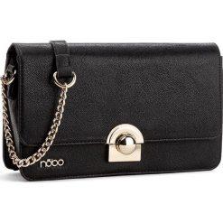 Torebka NOBO - NBAG-D0690-C020 Czarny. Czarne torebki klasyczne damskie marki Nobo, ze skóry ekologicznej. W wyprzedaży za 129,00 zł.
