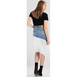 Miss Sixty FIELD SKIRT Spódnica jeansowa blue denim. Niebieskie spódniczki jeansowe Miss Sixty, m. W wyprzedaży za 439,00 zł.