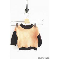 Bluza peach. Pomarańczowe bluzy niemowlęce Pakamera, z bawełny, z długim rękawem, długie. Za 73,00 zł.