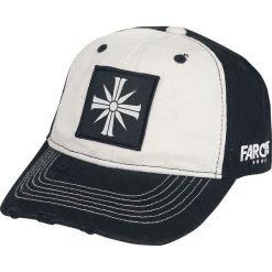 Far Cry 5 - Emblem Czapka baseballowa czarny/biały. Białe czapki z daszkiem damskie Far Cry, z aplikacjami, z tworzywa sztucznego. Za 42,90 zł.