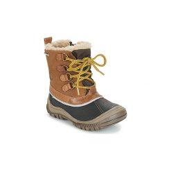 Śniegowce Dziecko Primigi  FLEN-E GORE-TEX. Brązowe buty zimowe chłopięce Primigi, z gore-texu. Za 379,00 zł.