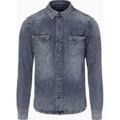 Tigha - Męska koszula jeansowa – Fred, niebieski. Niebieskie koszule męskie jeansowe marki Tigha, l. Za 399,95 zł.