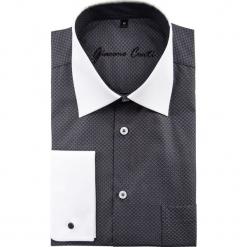 Koszula VITTORE slim 15-01-28. Białe koszule męskie Giacomo Conti, m, z bawełny, z klasycznym kołnierzykiem. Za 199,00 zł.