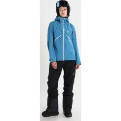 Bomberki damskie: Haglöfs KHIONE Kurtka snowboardowa blue fox