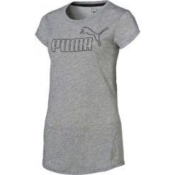 Bluzki sportowe damskie: Puma Koszulka Sportowa Active Ess No.1 Tee W Light Gray Heather S