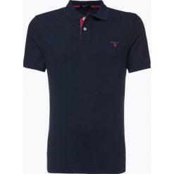 Gant - Męska koszulka polo – Rugger, niebieski. Niebieskie koszulki polo GANT, l, z bawełny. Za 349,95 zł.