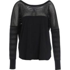 Lorna Jane BROOKLYN  Bluzka z długim rękawem black. Czarne bluzki longsleeves Lorna Jane, xs, z bawełny, sportowe. W wyprzedaży za 167,20 zł.