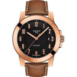 PROMOCJA ZEGAREK TISSOT T-Sport T098.407.36.052.01. Czarne zegarki męskie TISSOT, ze stali. W wyprzedaży za 1540,00 zł.