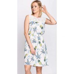 Sukienki: Biała Sukienka Gust of Wind