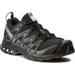 Buty SALOMON - Xa Pro 3D 392514 27 V0 Black/Magnet/Quiet Shade. Czarne buty do biegania męskie marki Salomon, z materiału, na sznurówki. W wyprzedaży za 369,00 zł.