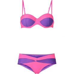 Bez Kategorii: Bikini na fiszbinach (2 części) bonprix różowy neonowy - jeżynowy