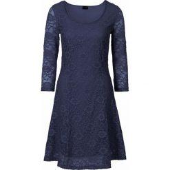 Sukienki: Sukienka z koronką bonprix ciemnoniebieski