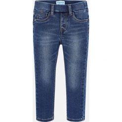 Mayoral - Jeansy dziecięce 92-134 cm. Niebieskie rurki dziewczęce Mayoral, z bawełny. Za 99,90 zł.