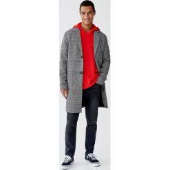 Sweter z fantazyjnym kapturem. Czarne swetry klasyczne męskie marki Reserved, m, z kapturem. Za 89,90 zł.