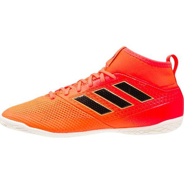 the best attitude c6f03 0109a adidas Performance ACE TANGO 17.3 IN Halówki solar redcore blacksolar  orange - Czerwone buty skate męskie marki adidas Performance, z gumy.