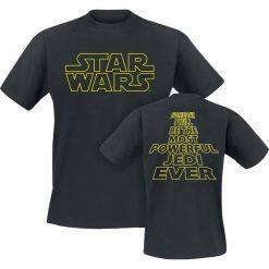 T-shirty męskie: Star Wars Most Powerful Jedi T-Shirt czarny