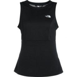 The North Face HIKESTELLER  Top black. Różowe topy sportowe damskie marki The North Face, m, z nadrukiem, z bawełny. Za 149,00 zł.