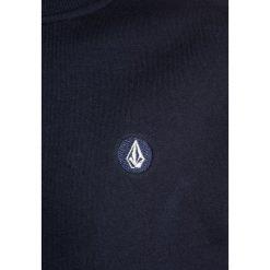 Volcom SINGLE STONE CREW Bluza navy. Niebieskie bluzy dziewczęce Volcom, z bawełny. W wyprzedaży za 151,20 zł.
