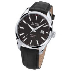 ZEGAREK EPOS Passion 3401.132.20.15.25. Czarne zegarki męskie EPOS, ze stali. Za 4600,00 zł.