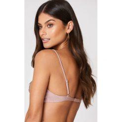 FAYT Góra od bikini Eli - Pink,Nude. Różowe bikini marki FAYT, z haftami. Za 89,95 zł.