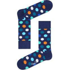 Happy Socks - Skarpety Big Dot. Niebieskie skarpetki męskie marki Quiksilver, z materiału, sportowe. Za 34,90 zł.