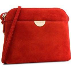 Torebka COCCINELLE - CV3 Mini Bag E5 CV3 55 D3 02 Coquelicot R09. Czerwone listonoszki damskie Coccinelle, ze skóry. W wyprzedaży za 489,00 zł.