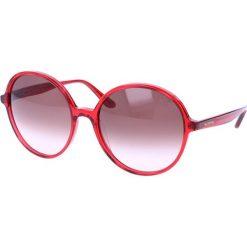 """Okulary przeciwsłoneczne damskie: Okulary przeciwsłoneczne """"V729S"""" w kolorze czerwonym"""