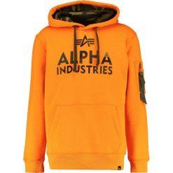 Bejsbolówki męskie: Alpha Industries FOAM PRINT Bluza z kapturem alpha orange