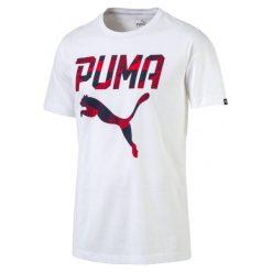 Koszulki do fitnessu męskie: Puma Koszulka Brand Tee Puma White L