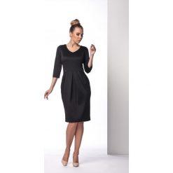 Elegancka sukienka tulipan czarna ANNETTE. Czarne sukienki balowe marki Lemoniade, tulipan. Za 94,90 zł.